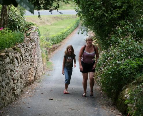 wandeltocht frankrijk