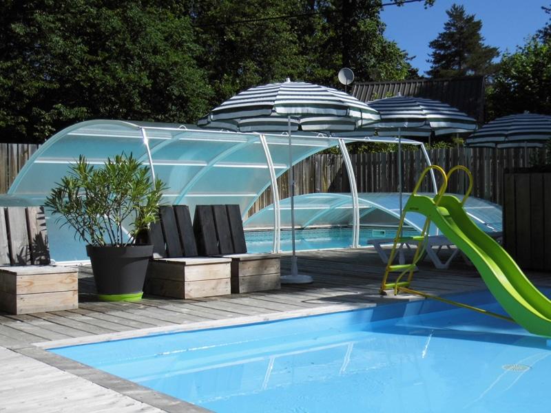 village vacances piscine couverte chauffee